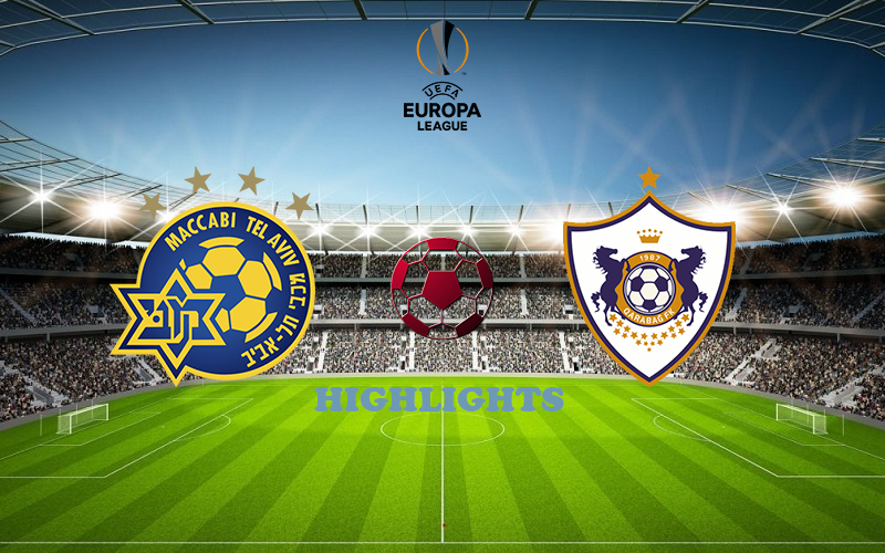 Маккаби Т-А - Карабах обзор 22.10.2020 Лига Европы