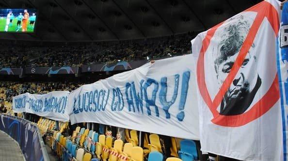 Ультрас «Динамо» объяснили свои баннеры на матче против «Ювентуса»