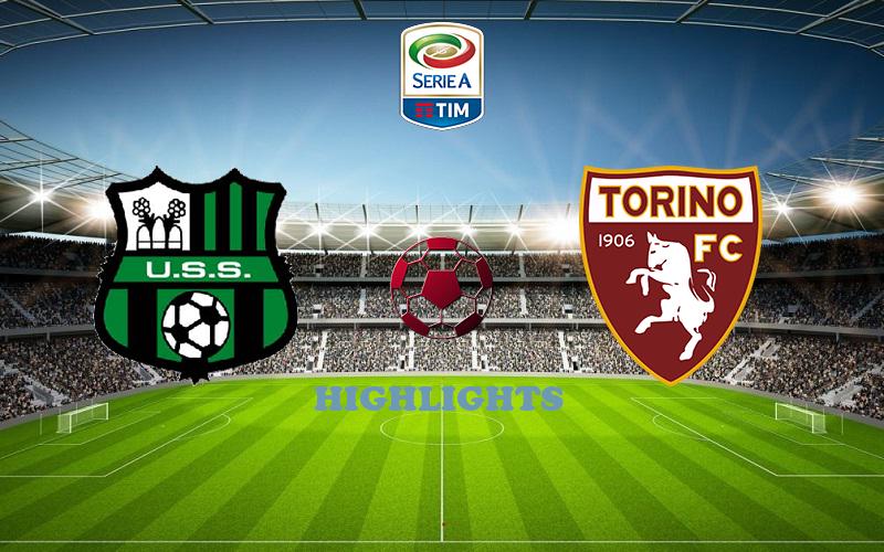Сассуоло - Торино обзор 23.10.2020 Серия А
