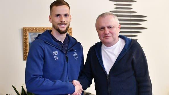 Кендзера продлил контракт с киевским «Динамо» до 2024
