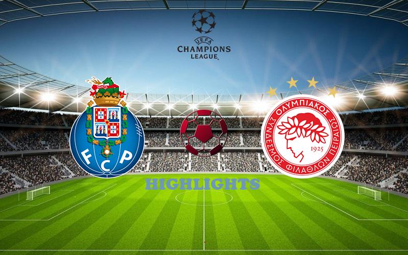 Порту - Олимпиакос обзор 27.10.2020 Лига Чемпионов