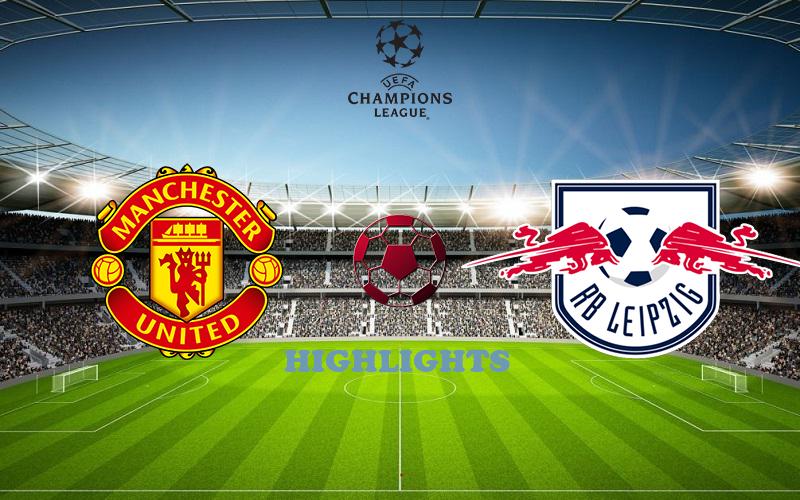 Манчестер Юнайтед - РБ Лейпциг обзор 28.10.2020 Лига Чемпионов