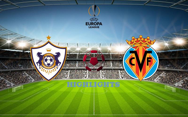 Карабах - Вильярреал обзор 29.10.2020 Лига Европы