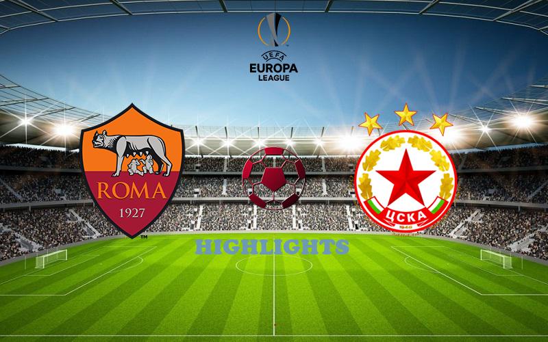 Рома - ЦСКА София обзор 29.10.2020 Лига Европы