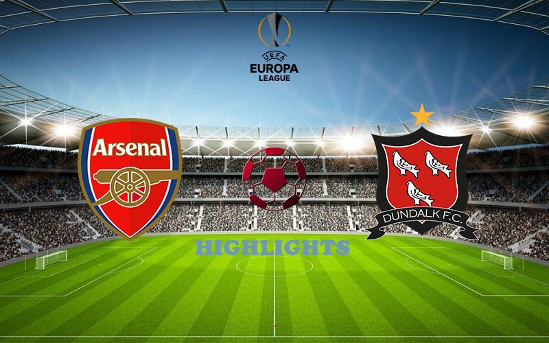 Арсенал - Дандолк обзор 29.10.2020 Лига Европы