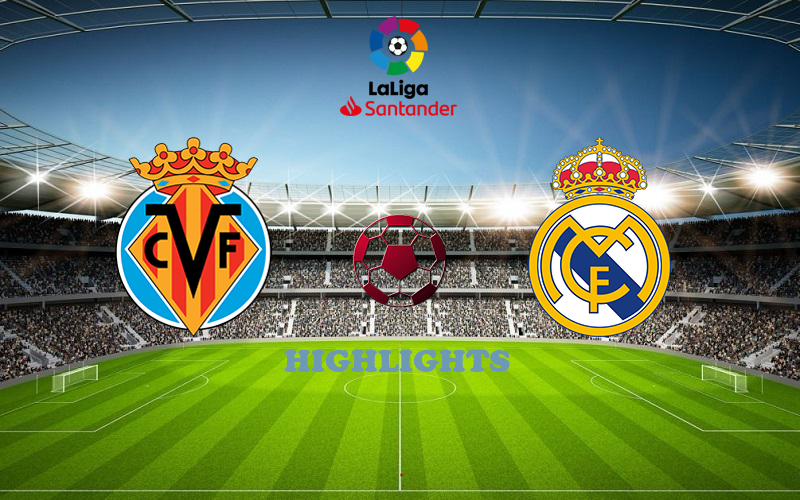 Вильярреал - Реал Мадрид обзор 21.11.2020 Ла Лига