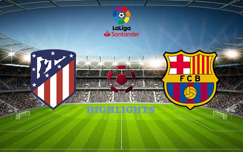 Атлетико - Барселона обзор 21.11.2020 Ла Лига