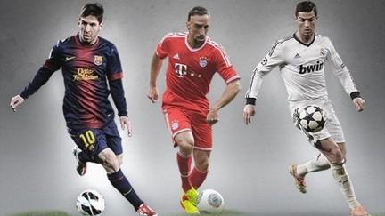 Месси, Роналду и Рибери — главные претенденты на звание лучшего ...